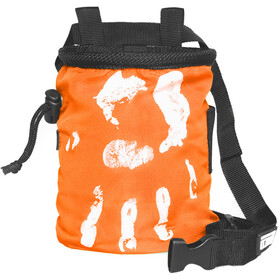 LACD Hand of Fate Chalk Bag with Belt, orange